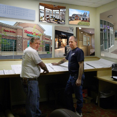 Budget Glass Company owners - Butch and David